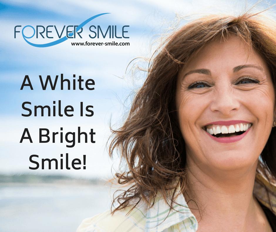 A White Smile Is A Bright Smile!